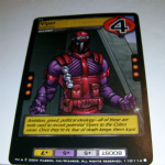G.I.Joe Trading card Game 2004 110/114 No 110 Viper (common) @sold@